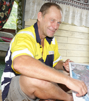 Fiji Geologist Stewart Capp
